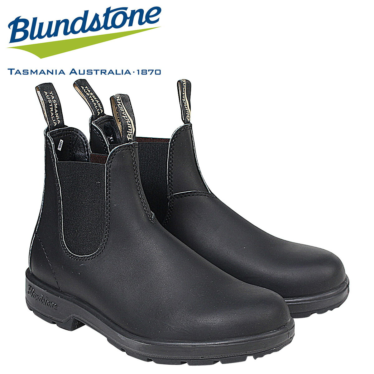 【最大2000円OFFクーポン】 【半期決算セール】 ブランドストーン Blundstone サイドゴア メンズ ブーツ DRESS V CUT BOOTS 510 ブラック [1/16 追加入荷]