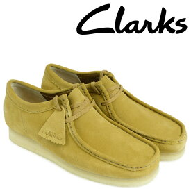 クラークス Clarks ワラビー ブーツ メンズ WALLABEE 26128360 ベージュ