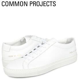 【最大2000円OFFクーポン】 コモンプロジェクト Common Projects アキレス ロー スニーカー メンズ ACHILLES LOW ホワイト 白 1528-0506