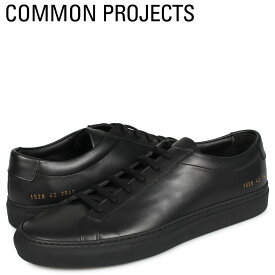 【最大2000円OFFクーポン】 コモンプロジェクト Common Projects アキレス ロー スニーカー メンズ ACHILLES LOW ブラック 黒 1528-7547