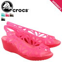 クロックス crocs レディース サンダル パンプス アドリナ ヒール ADRINA 3.0 MINI WEDGE W 14937 海外正規品 [S50]