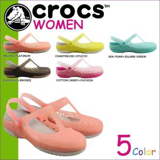 鳄鱼鳄鱼妇女卡莉的玛丽简氏花凉鞋卡莉玛丽珍花交叉 200612 5 个灯的颜色 [5 / 13 新股] [定期]