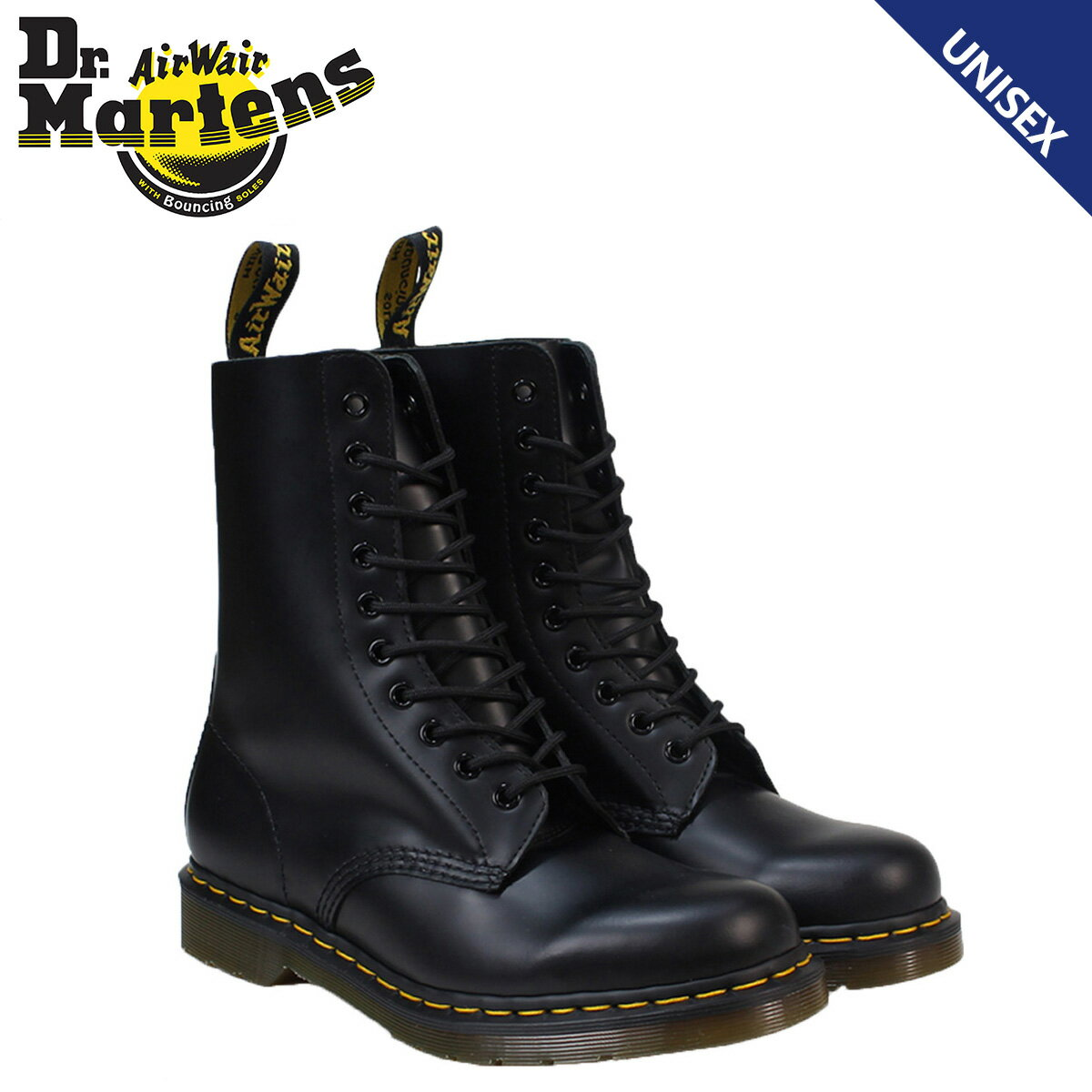 【最大2000円OFFクーポン】 ドクターマーチン 10ホール メンズ レディース Dr.Martens 1490 ブーツ 10EYE BOOT R11857001
