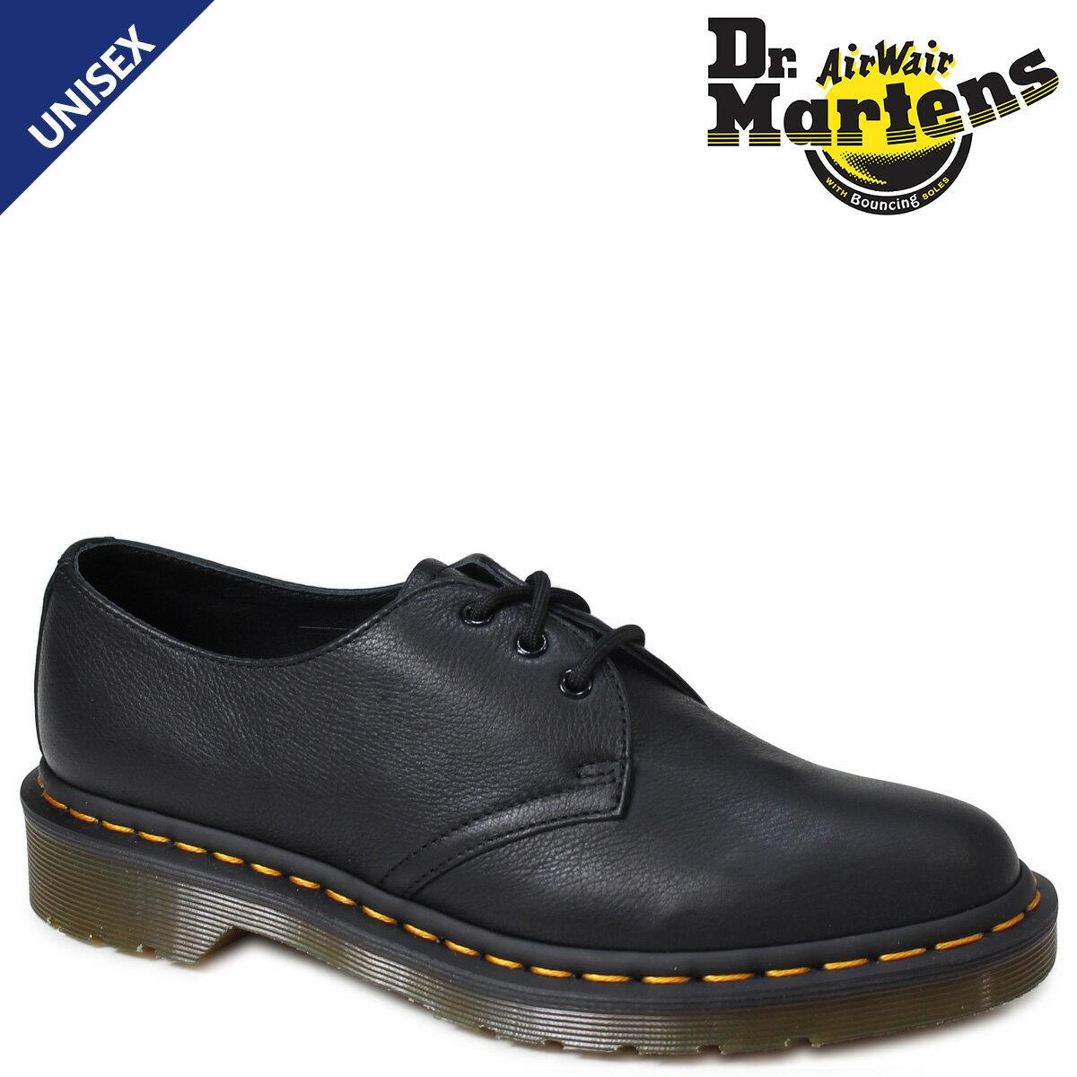 ドクターマーチン 3ホール 1461 レディース メンズ Dr.Martens 3アイレット シューズ WOMANS 3EYELET SHOE R20834001 ブラック