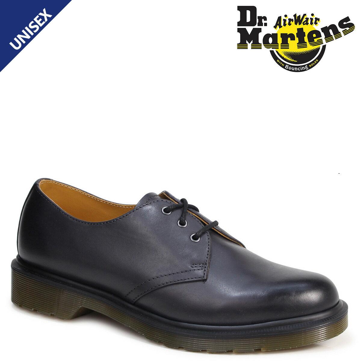 ドクターマーチン 3ホール 1461 メンズ レディース Dr.Martens オックスフォード シューズ 3EYELET SHOE R21153005 ブラック