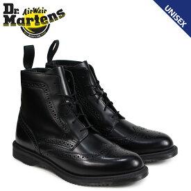 ドクターマーチン Dr.Martens 6ホール ブーツ レディース メンズ DELPHINE BROGUE BOOT ブラック R22650001