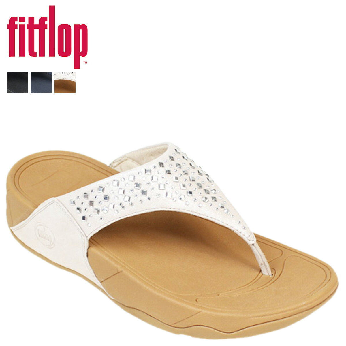 FitFlop サンダル フィットフロップ ノビー NOVY SHIMMER SUEDE 507 レディース