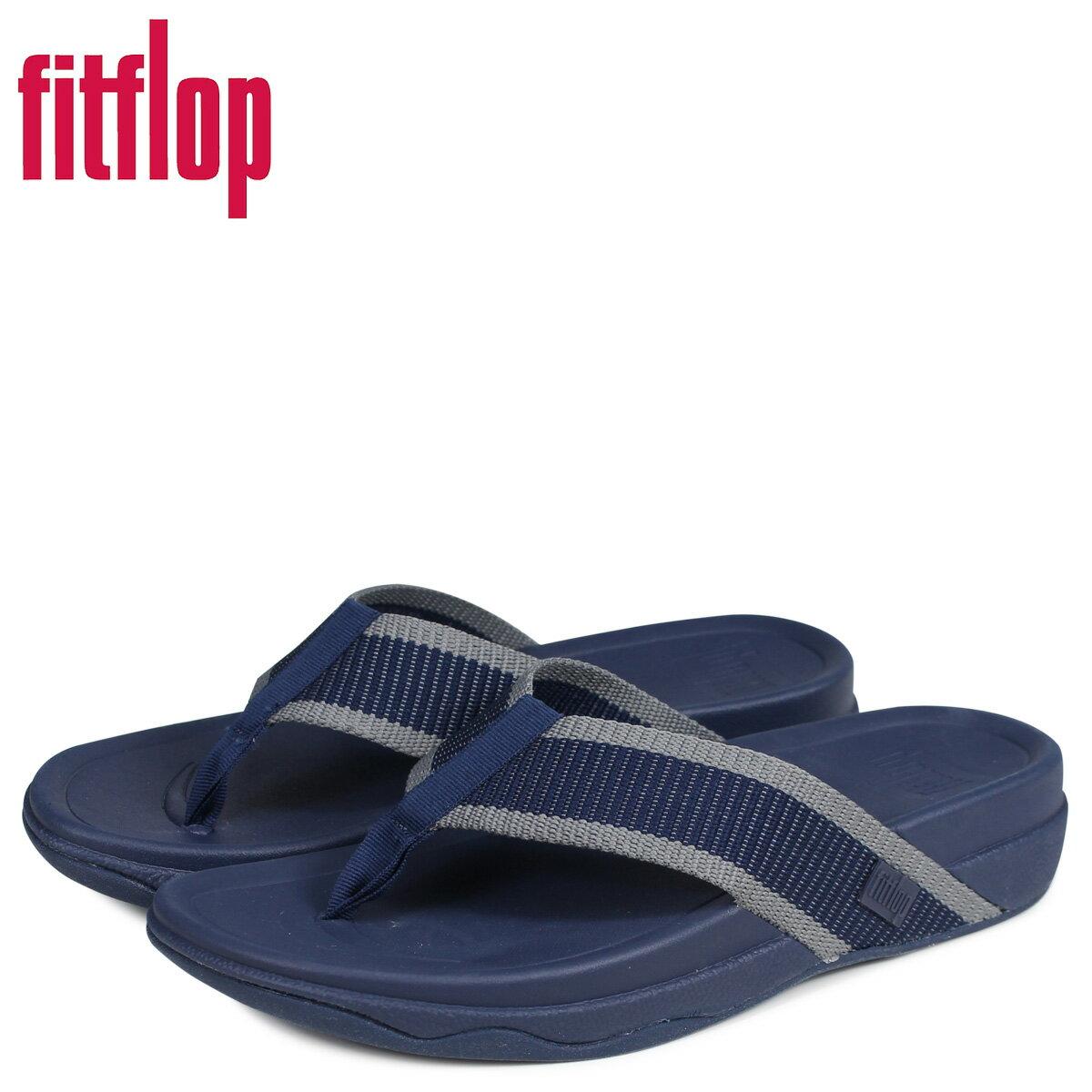 FitFlop フィットフロップ サンダル トングサンダル サーファー メンズ SURFER ネイビー J41 [3/20 新入荷]