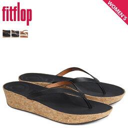 FitFlop sandarufittofuroppuraini LINNY TOE-THONG SANDALS LEATHER女士K46黑色棕色[4/4新進貨]