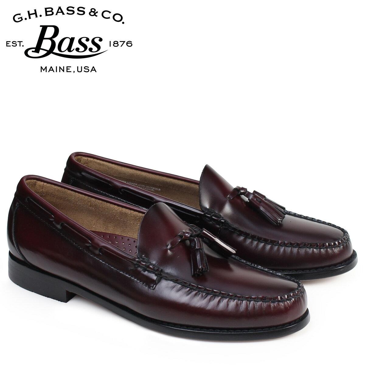 G.H. BASS ローファー ジーエイチバス メンズ タッセル LEXINGTON TASSEL WEEJUNS 70-10909 靴 バーガンディ [2/1 追加入荷]