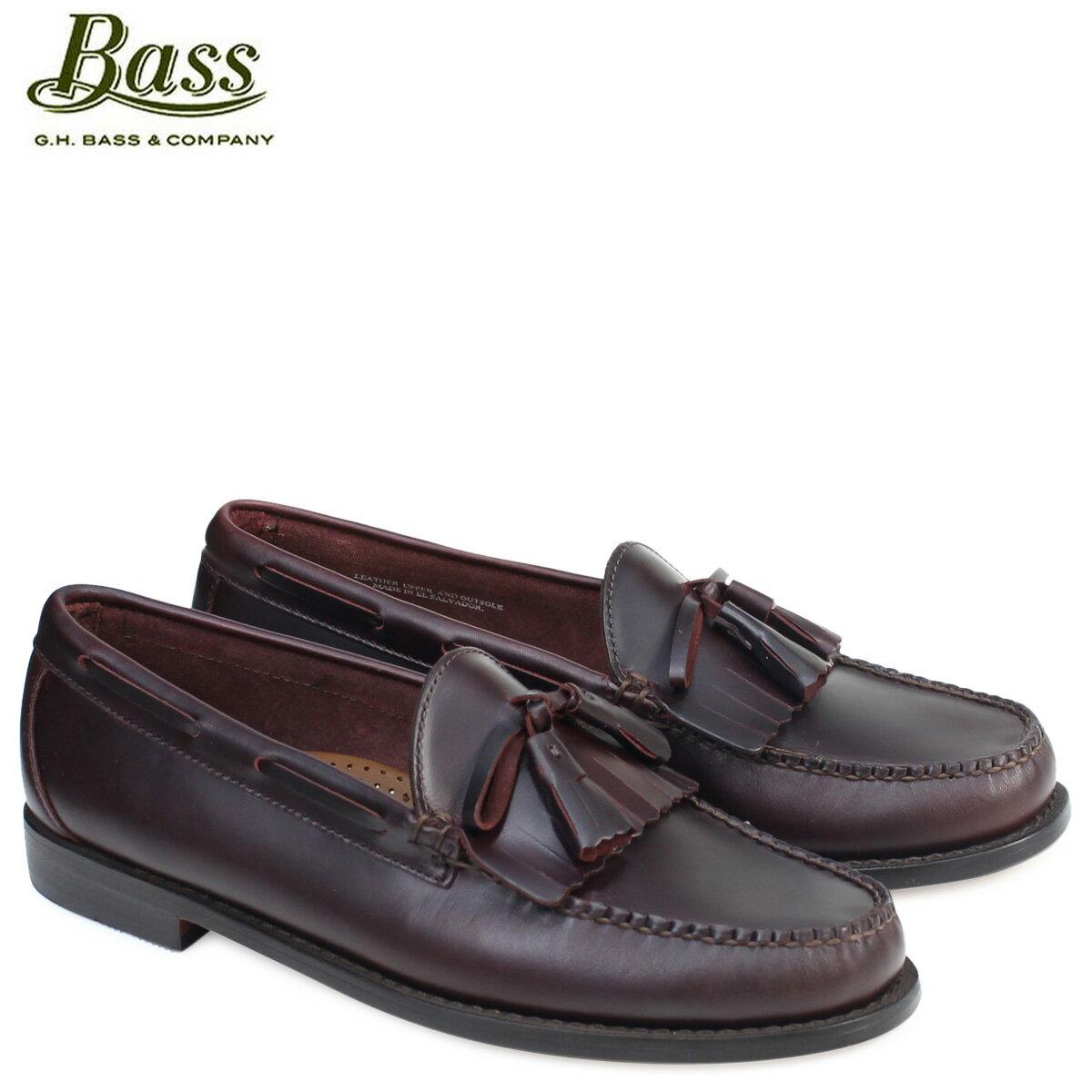 G.H. BASS ローファー ジーエイチバス メンズ タッセル LAWRENCE KILTIE WEEJUNS 70-80918 靴 バーガンディ