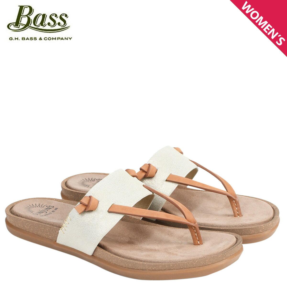 G.H. BASS サンダル レディース ジーエイチバス トングサンダル SHANNON THONG SUNJUNS 71-23012 靴 ゴールド