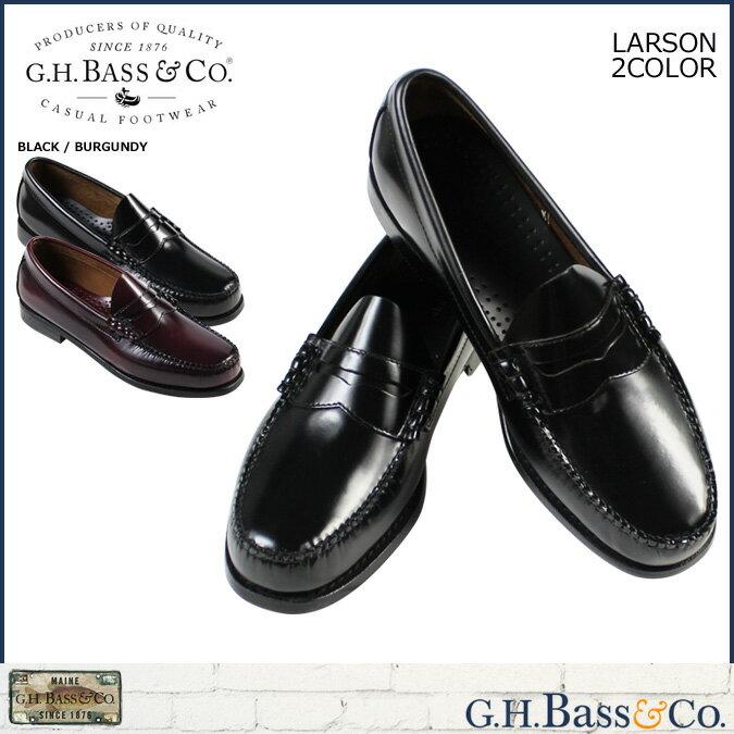 G.H. BASS ローファー ジーエイチバス メンズ LARSON 70-10914 70-10919 靴 2カラー [10/21 追加入荷]