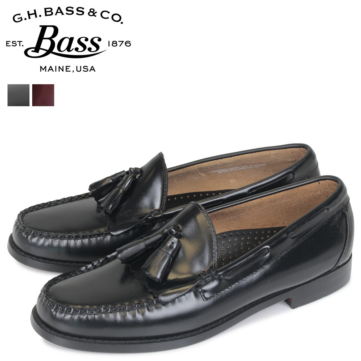 G.H. BASS ローファー ジーエイチバス メンズ LAYTON TASSEL LOAFER 70-10934 70-10939 靴 2カラー [3/1 追加入荷]