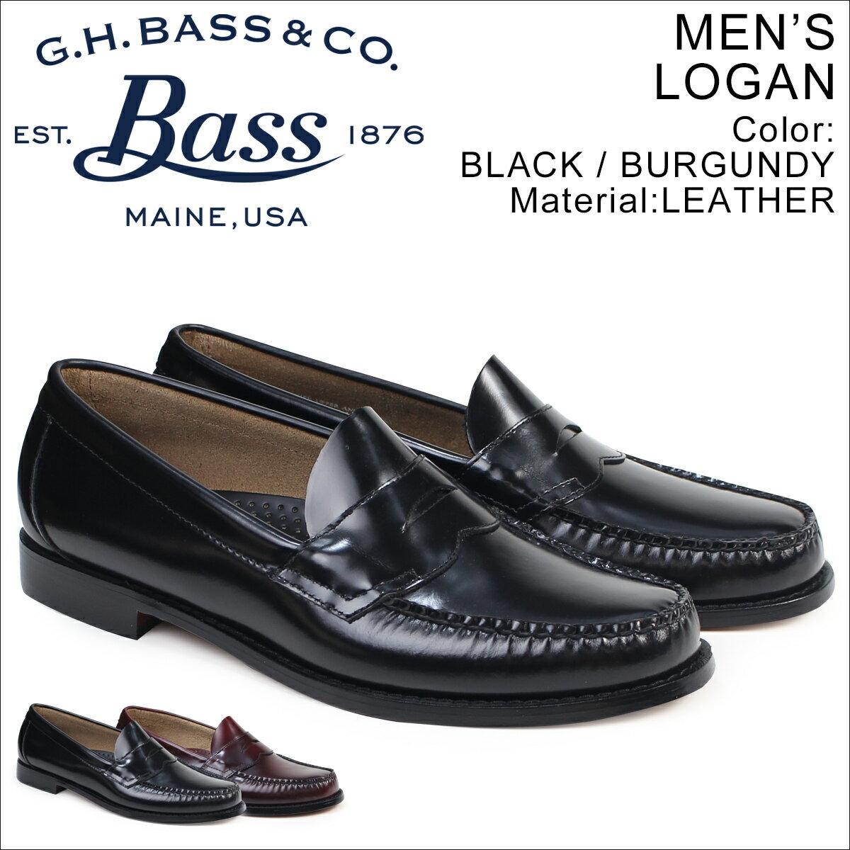 G.H. BASS ローファー ジーエイチバス メンズ LOGAN 70-10944 70-10949 靴 2カラー [2/1 再入荷]