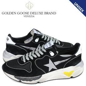 【最大2000円OFFクーポン】 ゴールデングース Golden Goose ランニングソール スニーカー メンズ レディース RUNNING SOLE ブラック 黒 G34MS963 A2