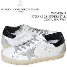 ゴールデングース Golden Goose スニーカー レディース スニーカー ズ スーパースター SNEAKERS SUPERSTAR ホワイト GCOWS590 W55