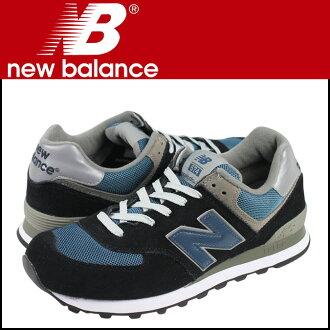 [SOLD OUT]新平衡new balance运动鞋黑色蓝色574JN人