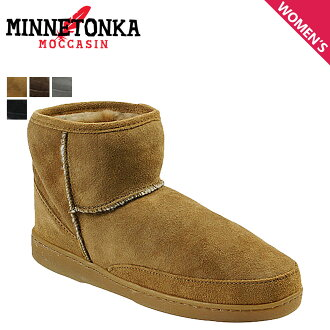 スペシャルショートシープスキン women's ANKLE HI PUG BOOT アンクルハイパグ boots MINNETONKA Minnetonka