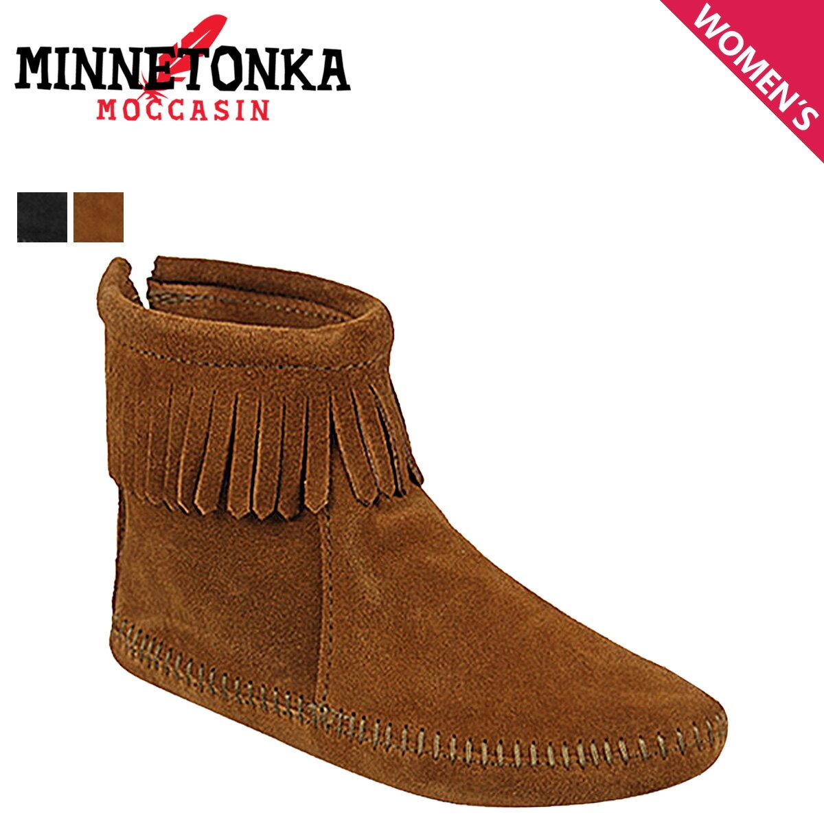 【最大2000円OFFクーポン ポイント最大32倍】 ミネトンカ MINNETONKA バック ジッパー ブーツ ソフトソール BACK ZIPPER BOOTS SOFT SOLE レディース
