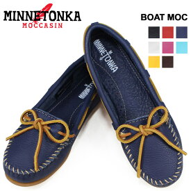 ミネトンカ MINNETONKA モカシン ボート レザー モック BOAT MOC レディース