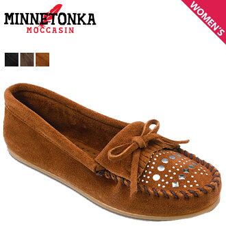 «Booking products» «11 / 15 days will be in stock» Minnetonka MINNETONKA studded moccasins STUDDED MOC suede スタデッド women's suede