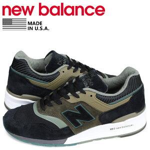 ニューバランスnewbalance997スニーカーメンズDワイズMADEINUSAブラック黒M997PAA[予約商品3/11頃入荷予定新入荷]