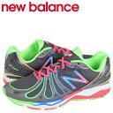 ニューバランス 890 レディース メンズ new balance スニーカー W890RB3 Bワイズ 靴 グレー