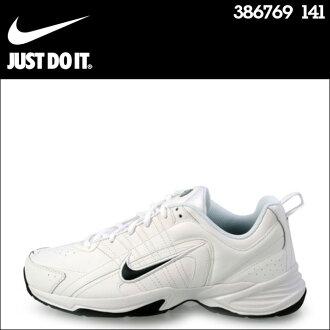 耐克NIKE运动鞋T-LITE 8 TRAINER LEATHER 386769-141人鞋白[S50]