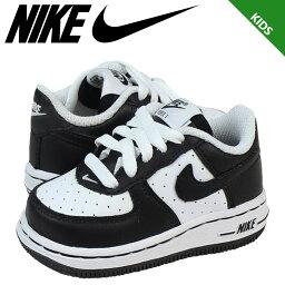 Nike 耐克嬰兒孩子空軍 1 TD 運動鞋空軍蹣跚學步皮革初中孩子嬰兒學步車 314194 107 黑白色
