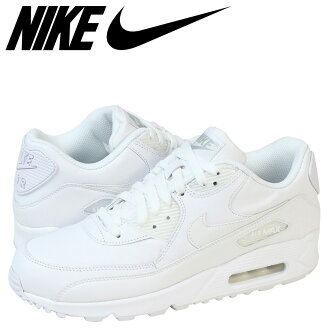 [Regular] points 2 x Nike NIKE AIR MAX 90 LEATHER sneakers Air Max 90 leather mens 302519-113 WHITE/WHITE white 02P30Nov14