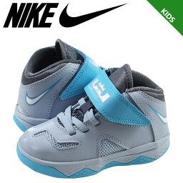 Nike 耐克士兵運動鞋嬰兒孩子焊錫 7 TD 勒布朗 · 詹姆斯 616987 402 鞋灰色