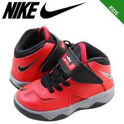 Nike 耐克嬰兒孩子勒布朗士兵 7 TD 運動鞋重生士兵 7 蹣跚學步 616987 601 黑紅色