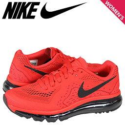 耐吉NIKE空氣最大女士運動鞋AIR MAX 2014 GS空氣最大2014 631334-600鞋紅