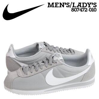 Nike NIKE classic Cortez sneaker CLASSIC CORTEZ NYLON 807472-010 Wolf grey men's women's shoes grey