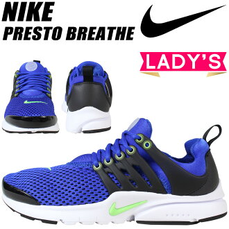 NIKE Nike Presto sneakers Womens AIR PRESTO BREATHE GS 832250-430 shoes blue