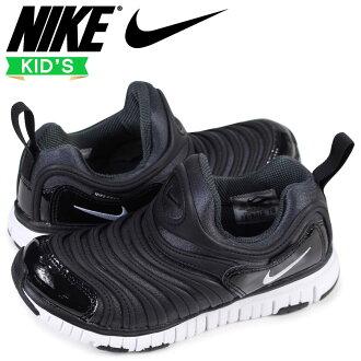 Nike NIKE dynamo-free kids sneakers DYNAMO FREE PS 343,738-013 black [1/26 Shinnyu load]