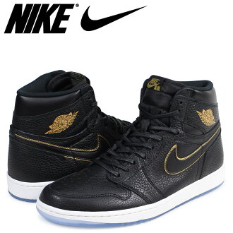 Nike NIKE Air Jordan 1 nostalgic high sneakers AIR JORDAN 1 RETRO HIGH OG 554,724-601 men's shoes black [load planned Shinnyu load in reservation product 1/10 containing]
