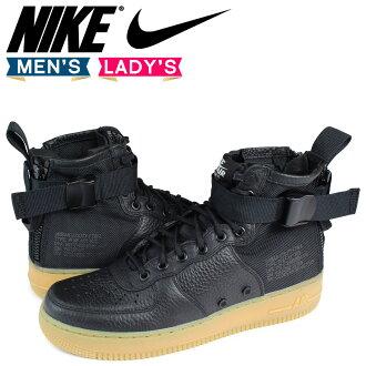 Nike NIKE air force 1 special field sneakers WMNS SPECIAL FIELD AIR FORCE 1 MID AA3966-002 SF AF1 men gap Dis shoes black