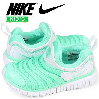 Nike NIKE dynamo-free kids sneakers DYNAMO FREE PS 343,738-309 green [3/23 Shinnyu load]