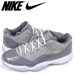 耐吉NIKE空氣喬丹11重新流行低運動鞋人AIR JORDAN 11 RETRO LOW 528895-003灰色[預訂商品5/12左右打算進貨新入貨物]