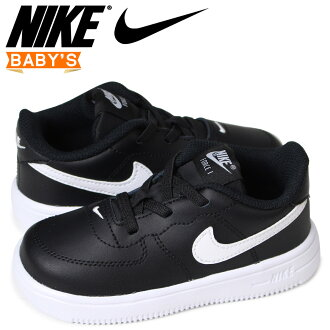 Nike NIKE force 1 baby sneakers FORCE 1 TD 905,220-002 black [load planned Shinnyu load in reservation product 5/1 containing]