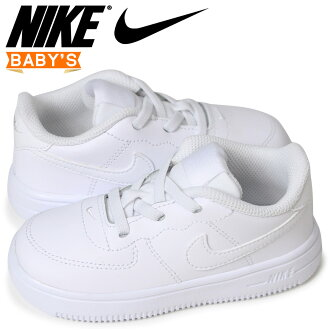 Nike NIKE force 1 baby sneakers FORCE 1 TD 905,220-100 white [load planned Shinnyu load in reservation product 5/1 containing]