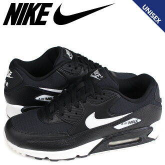 NIKE WMNS AIR MAX 90 Kie Ney AMAX 90 sneakers Lady's men black 325,213-060 [load planned Shinnyu load in reservation product 2/13 containing]