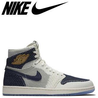 09f7aa55ead7 NIKE AIR JORDAN 1 RETRO HI FLYKNIT JETER Nike Air Jordan 1 sneakers men navy  553