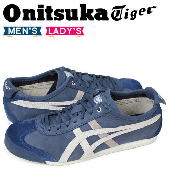 finest selection 61543 bc136 Onitsuka tiger Onitsuka Tiger Mexico 66 MEXICO 66 men's lady's sneakers  D832L-4990 dark blue