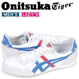 【最大1000円OFFクーポン】 オニツカタイガー Onitsuka Tiger セラーノ SERRANO メンズ レディース スニーカー D109L-0142 TH109L-0142 ホワイト