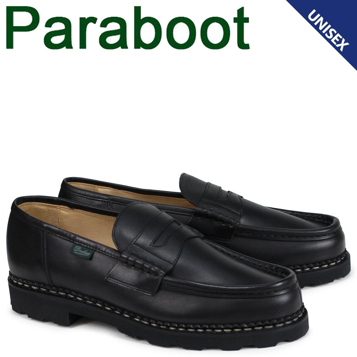 パラブーツ ランス PARABOOT REIMS シューズ ローファー 099412 メンズ レディース ブラック