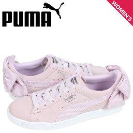 プーマ PUMA スエード ボウ スニーカー レディース WMNS SUEDE BOW UPRISING ピンク 36745503