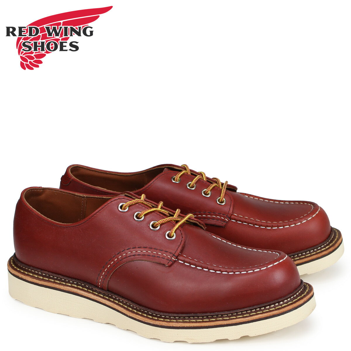レッドウィング RED WING オックスフォード シューズ CLASSIC OXFORD Dワイズ メンズ ブラウン 8103